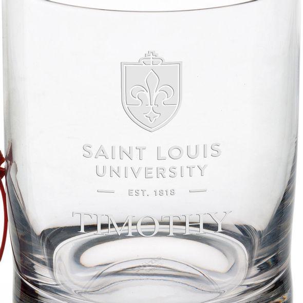 Saint Louis University Tumbler Glasses - Set of 4 - Image 3