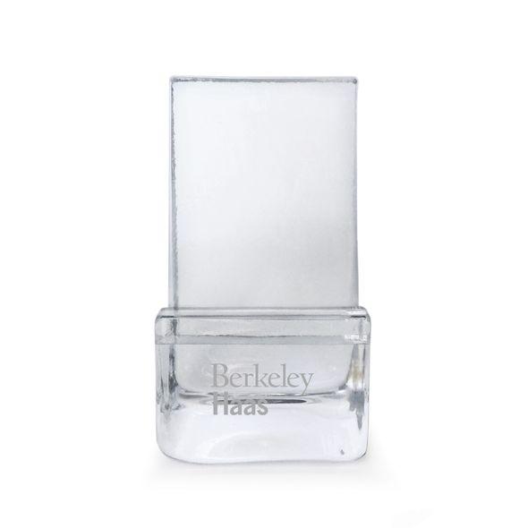 Berkeley Haas Glass Phone Holder by Simon Pearce - Image 1