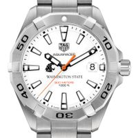 Washington State University Men's TAG Heuer Steel Aquaracer