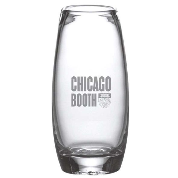 Chicago Booth Glass Addison Vase by Simon Pearce