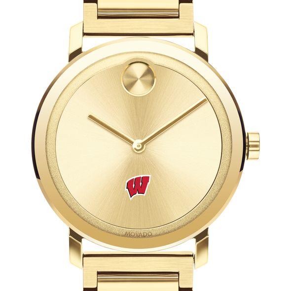 Wisconsin Men's Movado Bold Gold with Bracelet - Image 1