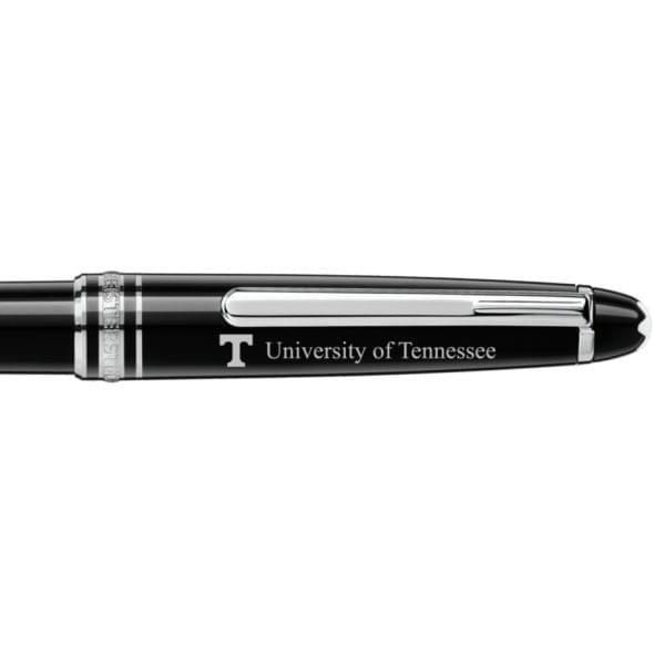 University of Tennessee Montblanc Meisterstück Classique Ballpoint Pen in Platinum - Image 2