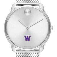 Williams College Men's Movado Stainless Bold 42