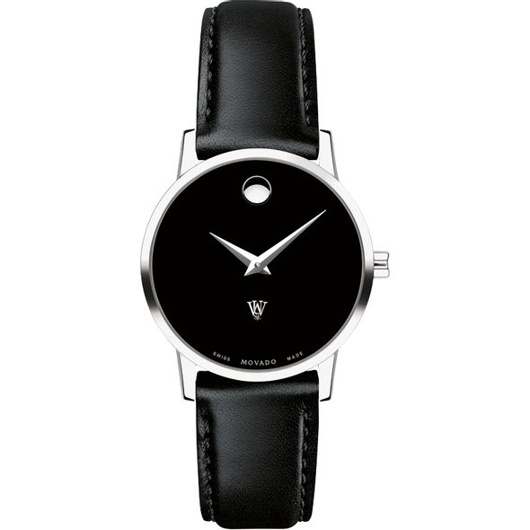 WashU Women's Movado Museum with Leather Strap - Image 2