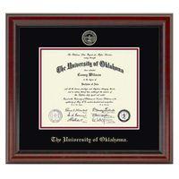 Oklahoma Fidelitas Ph.D. Diploma Frame