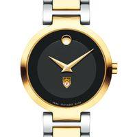 Lehigh University Women's Movado Two-Tone Modern Classic Museum with Bracelet