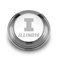 University of Illinois Pewter Paperweight