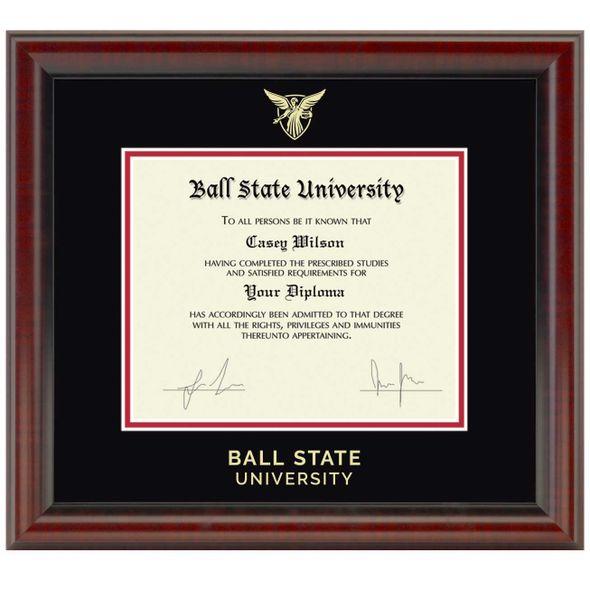 Ball State Diploma Frame, the Fidelitas - Image 1