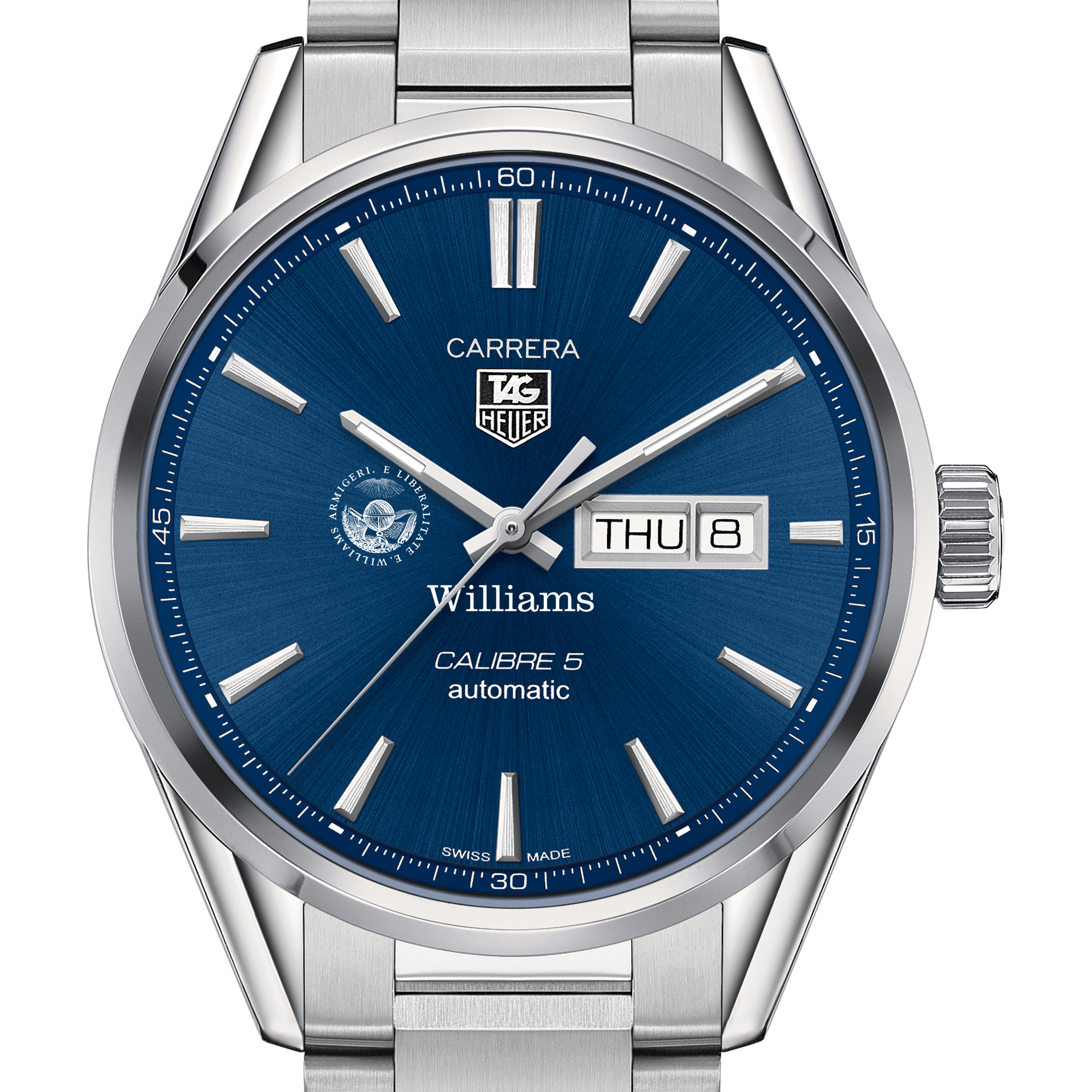 Williams College Men's TAG Heuer Carrera with Day-Date