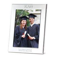 Kappa Alpha Theta Polished Pewter 5x7 Picture Frame