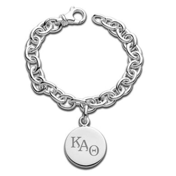 Kappa Alpha Theta Sterling Silver Charm Bracelet