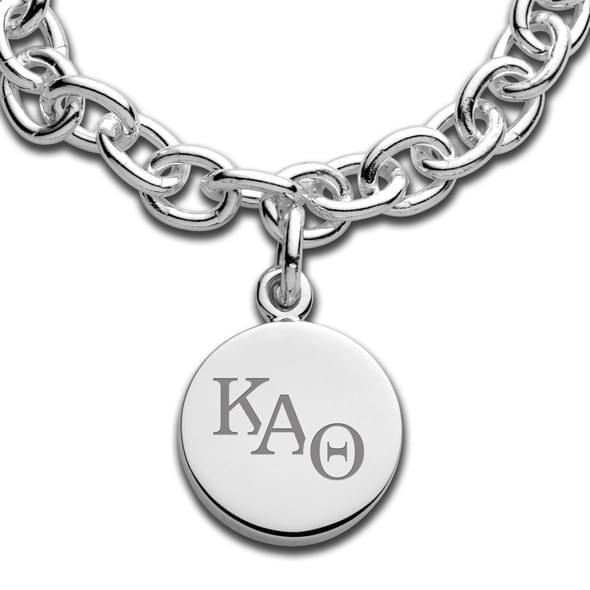 Kappa Alpha Theta Sterling Silver Charm Bracelet - Image 2