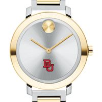 Boston University Women's Movado Two-Tone Bold 34