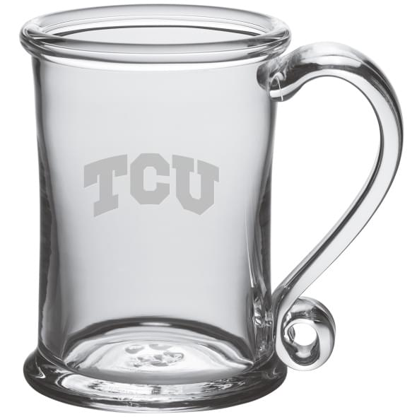 TCU Glass Tankard by Simon Pearce