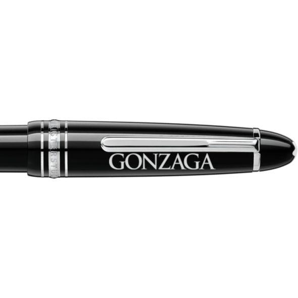 Gonzaga Montblanc Meisterstück LeGrand Ballpoint Pen in Platinum - Image 2