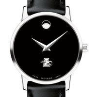 Loyola Women's Movado Museum with Leather Strap