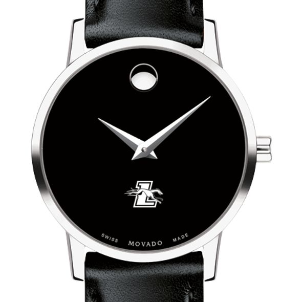 Loyola Women's Movado Museum with Leather Strap - Image 1