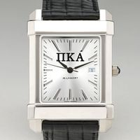 Pi Kappa Alpha Men's Collegiate Watch with Leather Strap