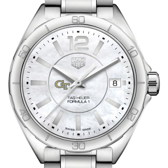 Georgia Tech Women's TAG Heuer Formula 1 with MOP Dial