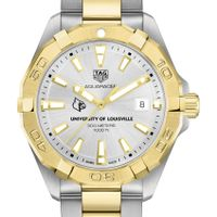 University of Louisville Men's TAG Heuer Two-Tone Aquaracer