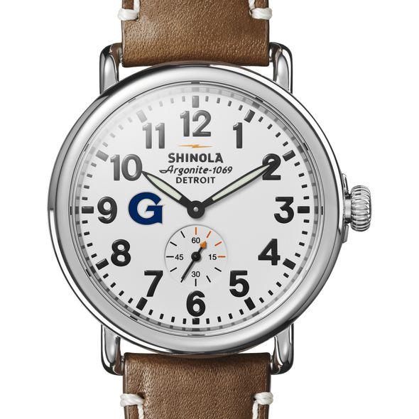Georgetown Shinola Watch, The Runwell 41mm White Dial