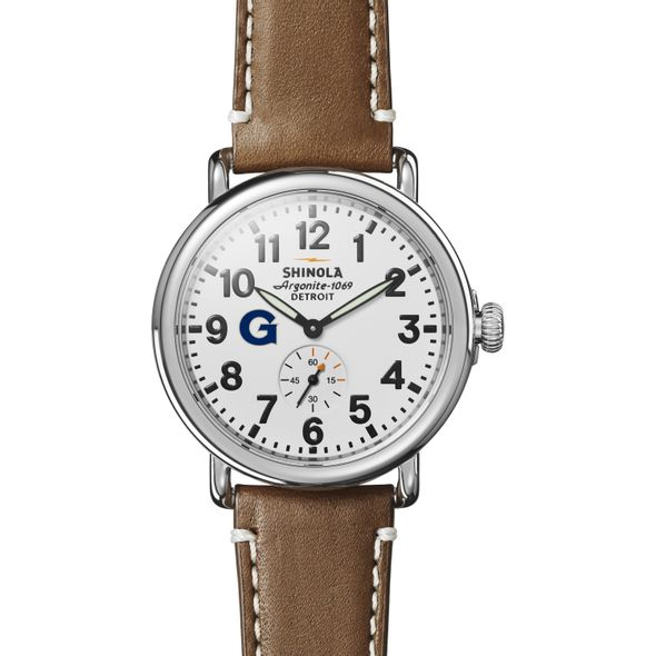 Georgetown Shinola Watch, The Runwell 41mm White Dial - Image 2