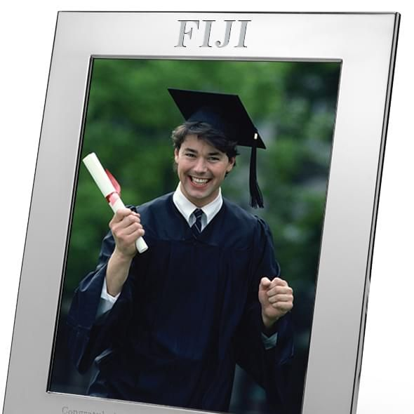 Phi Gamma Delta Polished Pewter 8x10 Picture Frame - Image 2