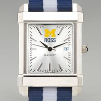 Michigan Ross Collegiate Watch with NATO Strap for Men