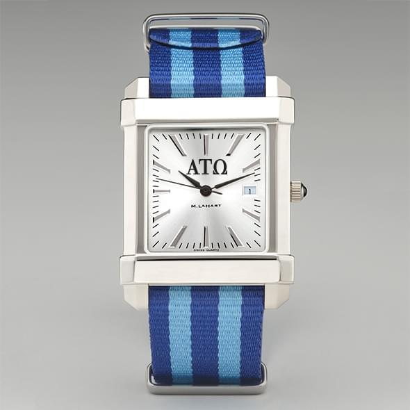 Alpha Tau Omega Men's Collegiate Watch w/ NATO Strap - Image 2