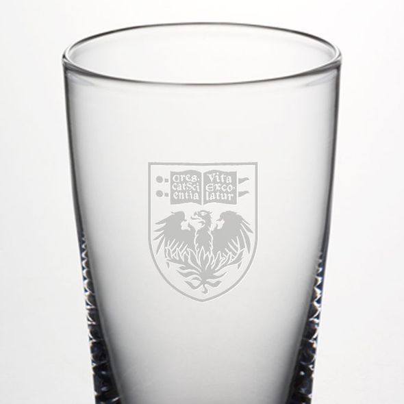 Chicago Pint Glass by Simon Pearce - Image 2