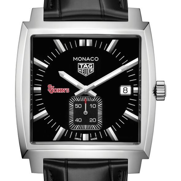 St. John's University TAG Heuer Monaco with Quartz Movement for Men