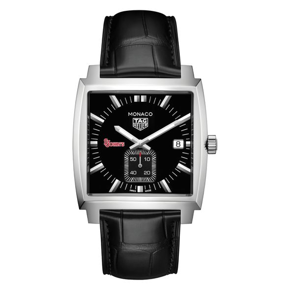 St. John's University TAG Heuer Monaco with Quartz Movement for Men - Image 2