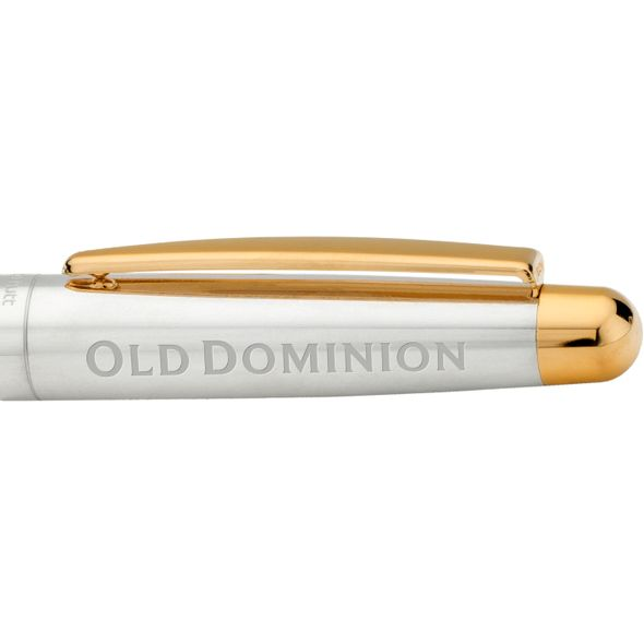 Old Dominion Fountain Pen in Sterling Silver with Gold Trim - Image 2