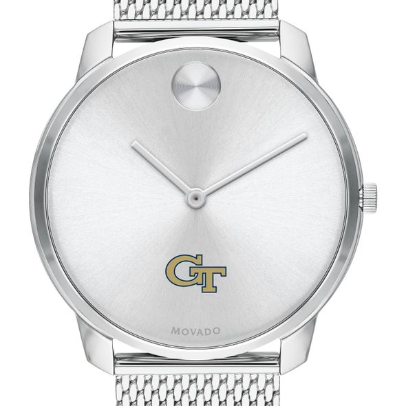 Georgia Tech Men's Movado Stainless Bold 42