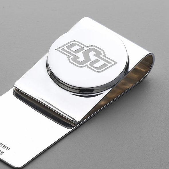 Oklahoma State University Sterling Silver Money Clip - Image 2