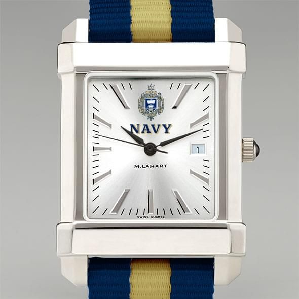 Us Naval Academy Collegiate Watch With Nato Strap For Men