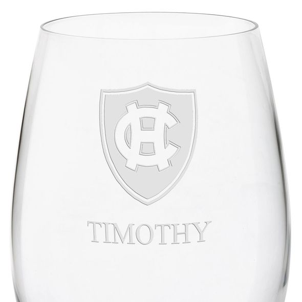 Holy Cross Red Wine Glasses - Set of 2 - Image 3