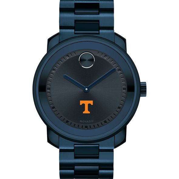 University of Tennessee Men's Movado BOLD Blue Ion with Bracelet - Image 2