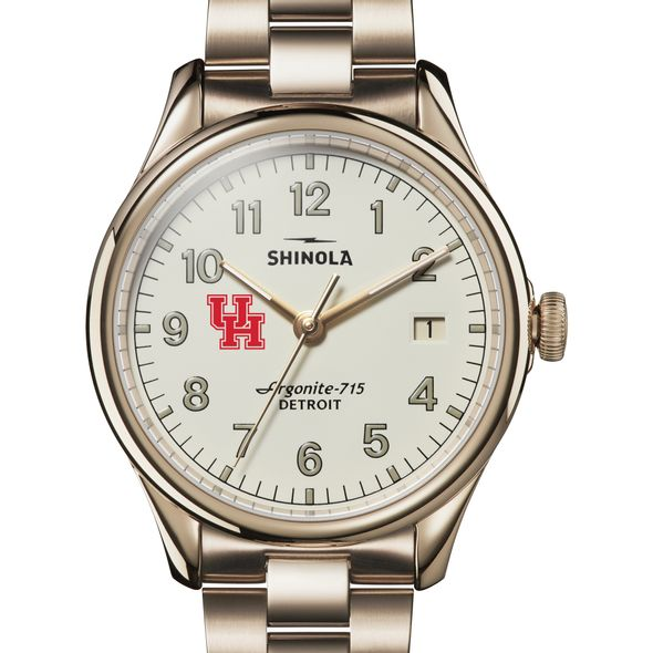Houston Shinola Watch, The Vinton 38mm Ivory Dial - Image 1