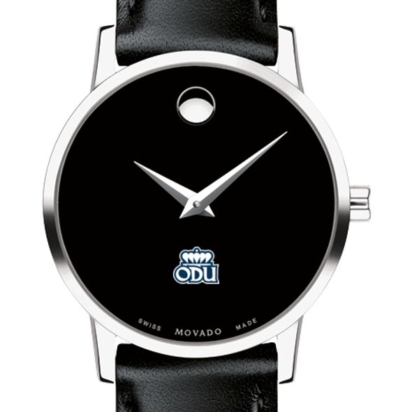 Old Dominion Women's Movado Museum with Leather Strap