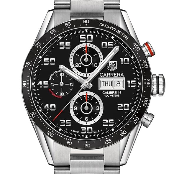 Michigan State Men's TAG Heuer Carrera Tachymeter - Image 1