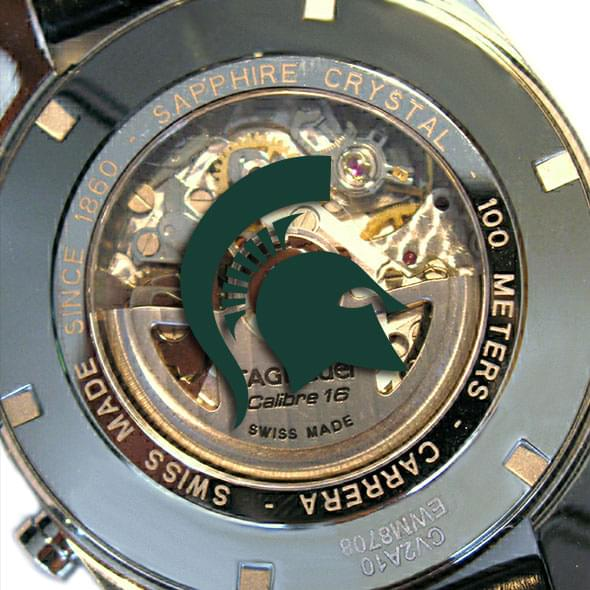 Michigan State Men's TAG Heuer Carrera Tachymeter - Image 2