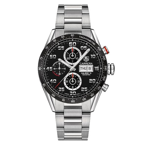 Michigan State Men's TAG Heuer Carrera Tachymeter - Image 3