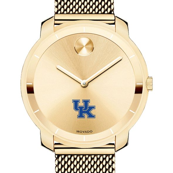 University of Kentucky Women's Movado Gold Bold 36