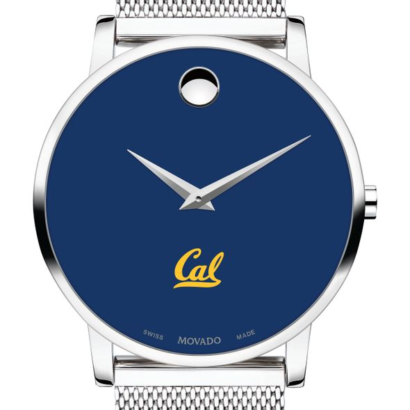Berkeley Men's Movado Museum with Blue Dial & Mesh Bracelet