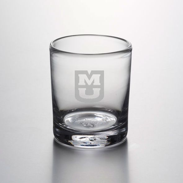 University of Missouri Double Old Fashioned Glass by Simon Pearce