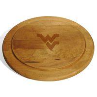 West Virginia University Round Bread Server