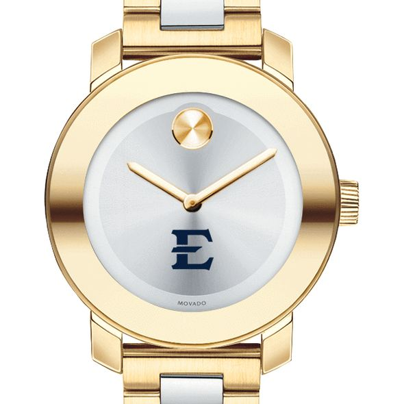 East Tennessee State University Women's Movado Two-Tone Bold