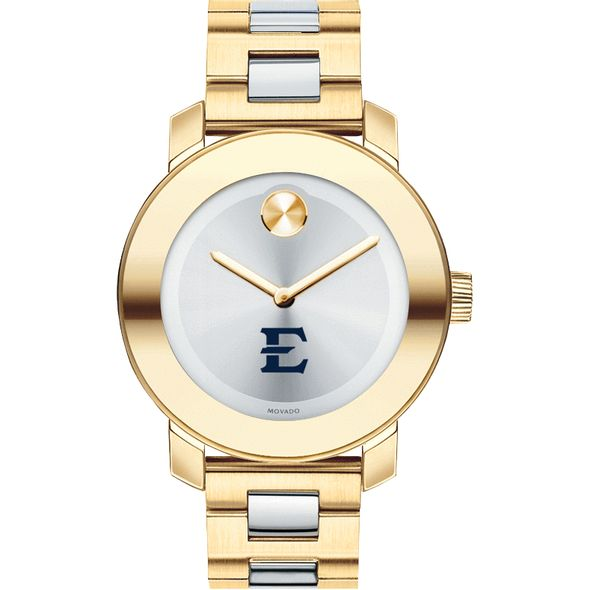 East Tennessee State University Women's Movado Two-Tone Bold - Image 2