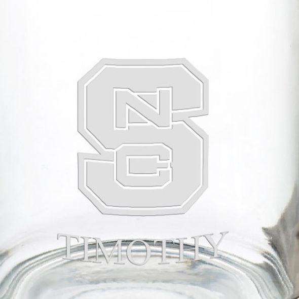 North Carolina State 13 oz Glass Coffee Mug - Image 3
